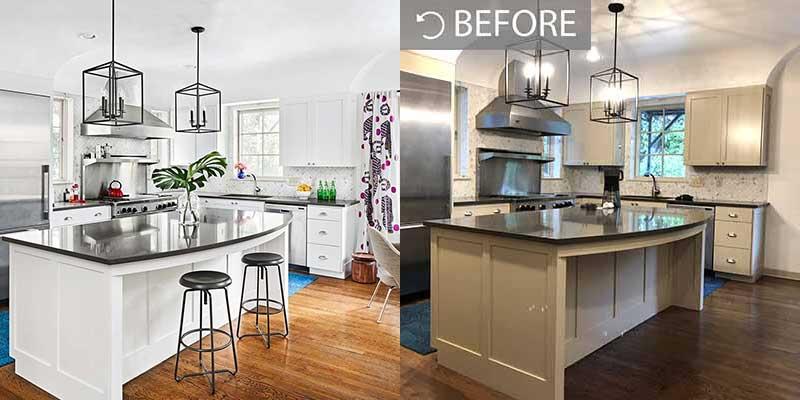 kitchen decorators refurb painting respray andover basingstoke hampshire whitchurch basingstoke