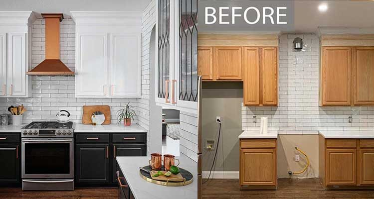 kitchen decorators refurb painting respray andover basingstoke hampshire whitchurch