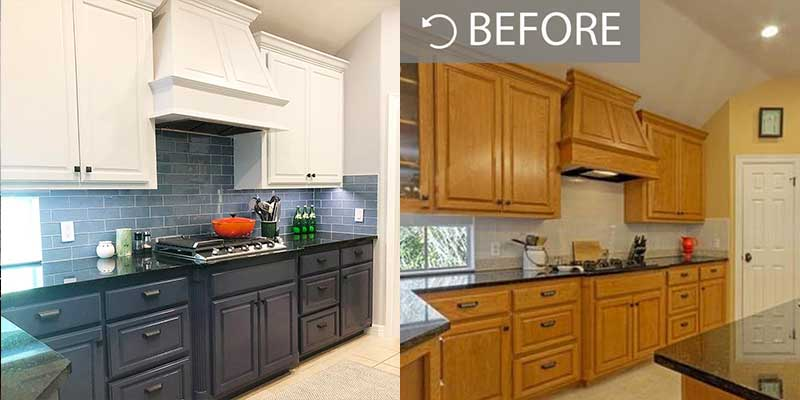 kitchen decorators refurb painting respray andover basingstoke hampshire southampton whitchurch