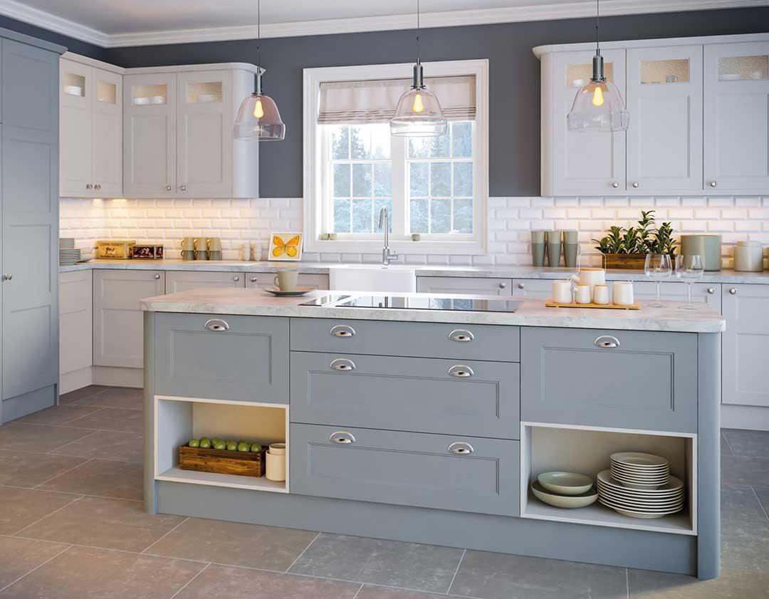 Respray Kitchen Winchester Seyri Grey