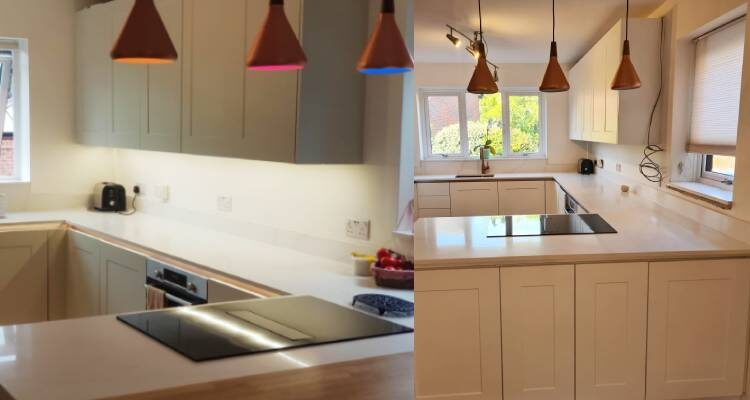 arrow and Ball Cromarty kitchen decorators refurb painting respray andover basingstoke hampshire whitchurch andover